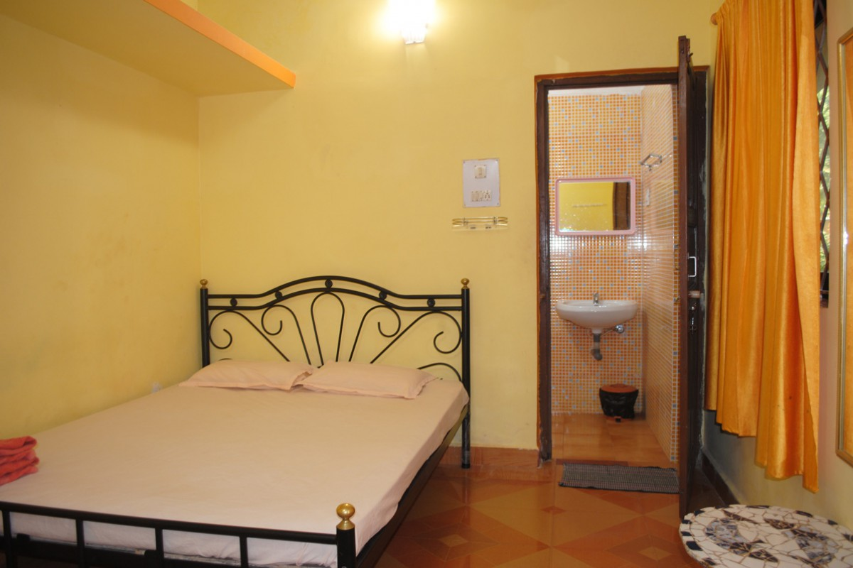 Orange Double Occupancy Bedroom